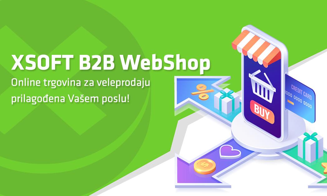 B2B webshop XSOFT